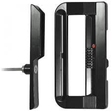 Keyed Patio Door Handle Patio Door Handle Set With Keyed Lock Ideal Security Inc