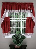 Hunter Green Kitchen Curtains by Kitchen Curtains Tiers U0026 Swags Swags Galore Kitchen Curtains