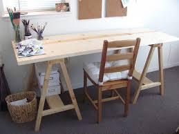 Ana White Sawhorse Desk 25 Unique Diy Sawhorse Ideas On Pinterest Saw Horse Diy