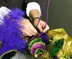 mardi gras material best 25 mardi gras wreath ideas on madi gras party