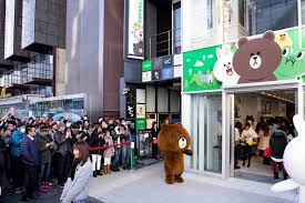 Line Store Can T Get Enough Line Learn About The Line Friends Stores In
