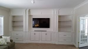 wall units outstanding custom built in entertainment center