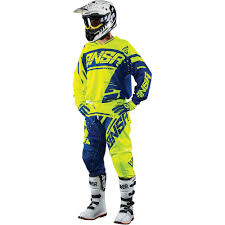motocross gear combo answer 2018 syncron yellow blue gear combo at mxstore