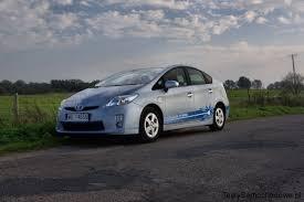 toyota na toyota prius plug in hybrid auto na kabel i na baterie test