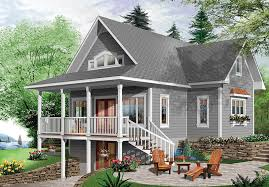 Lake Cottage Floor Plans Brown Hill Lake Home Plan 032d 0817 House Plans And More