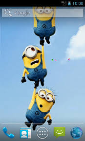 funny minions live wallpapers free app download android freeware