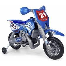 si e moto enfant moto x cross 6v avec casque feber véhicule électrique pour enfant
