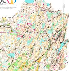 Distance Map Woc 2016 Long Maps And Results World Of O News