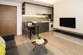 Urban Modern Design by A Modern Apartment In Sleek Interior Design For An Uncluttered
