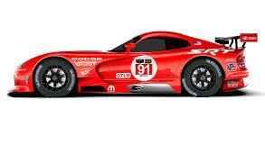 Dodge Viper Race Car - srt motorsport viper to wear old dodge racing livery again