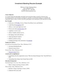 Resume For Bank Teller Objective Resume Examples Banker Virtren Com