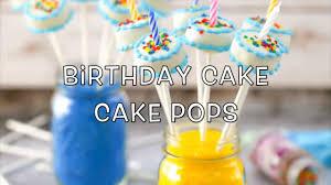 birthday cake pops birthday cake cake pops on vimeo