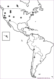 Blank South America Map Ascended Master Retreats Over North Central And South America