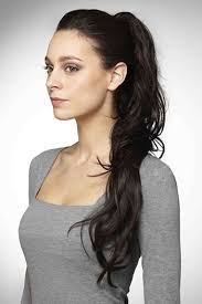 ponytail hair glam clip in ponytail by hot hair hairpieces clip on hair