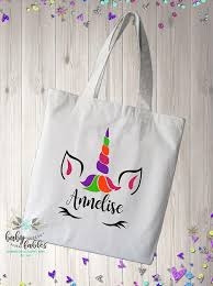 unicorn bag trick or treat bags for