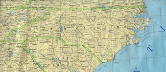 County Map Of South Carolina North Carolina Maps Perry Castañeda Map Collection Ut Library