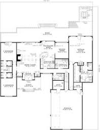 House Plans With Game Room Plan 60615nd Split Floor Plans With Angled Garage Basement