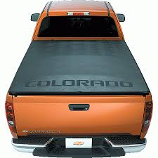 Chevy Colorado Bed Cover General Motors 12497468 Gm Accessories Soft Tonneau Cover