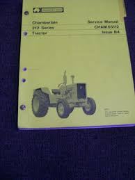 28 chamberlain 791 backhoe manuals tractors motor book