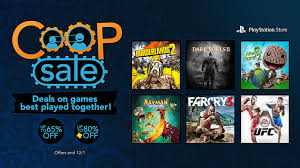pre black friday ps4 ps3 sale discounts tons of co op
