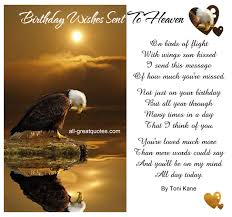 send birthday card birthday wishes sent to heaven heavens messages and email cards
