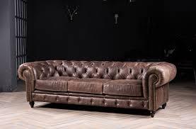 canap classique chesterfield canapé classique canapé avec vintage en cuir pour