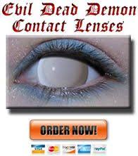 gothika sinister fx contact lenses extra scare
