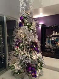 purple christmas tree some decorum pretty christmas trees and