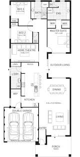 beach house designs and floor plans cottesloe beach single storey home design master floor plan wa