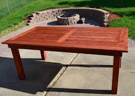 Cedar Patio Table Western Red Cedar Outdoor Furniture Simplylushliving