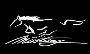 mustang decals mustang decal sticker ford truck cars transfer windows window