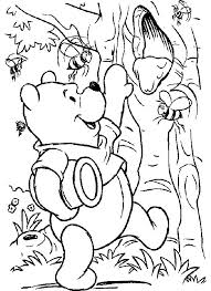 236 pooh images animal alphabet coloring