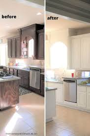 how to paint brown cabinets 5 tips painting kitchen cabinets white and the