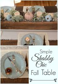 shabby chic fall table all things heart and home