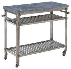 metal kitchen island home styles stainless steel kitchen island cart snaphaven