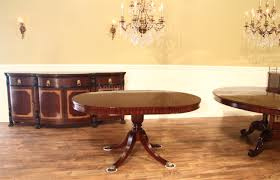 Round Dining Room Table With Leaf by 44 Round Mahogany Dining Table With Leaf Mahogany Drum Table