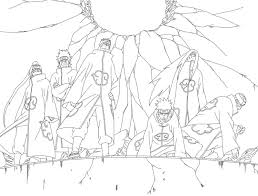 pain naruto coloring pages coloring pages ideas
