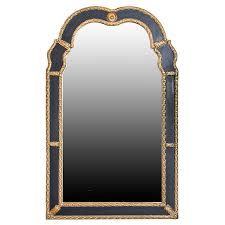 carved wood framed wall mirror ebth