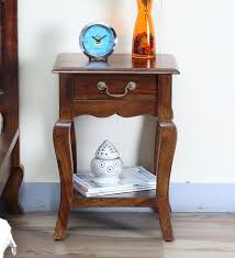 buy red cherry bedside table by hometown online colonial bedside