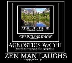 Atheist Vs Christian Meme - atheists vs christians vs agnostics vs zen really funny