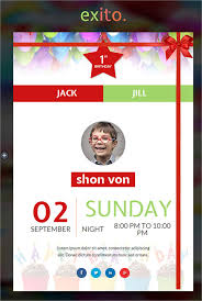 9 happy birthday email templates u2013 html psd templates download