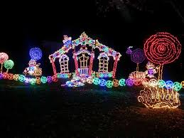 Rock City Garden Of Lights Rock City Lights Up Lookout Mountain At This Travels