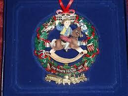 the white house 2003 ornament w box rocking