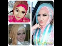 tutorial makeup natural hijab pesta tutorial hijab 2015 tutorial hijab paris 2 warna untuk pesta dan