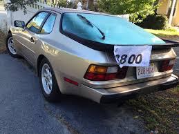 porsche 944 blue for sale beside the road 1985 porsche 944 bestride
