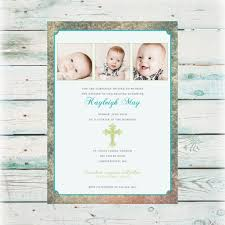 vintage baptism invitation digital file