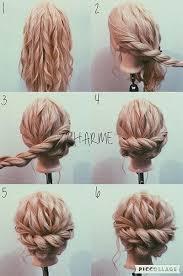 homecoming hair braids instructions bridesmaid hair pinterest hair style loose curls and makeup