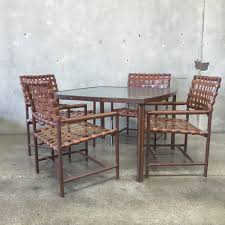 Brown And Jordan Vintage Patio Furniture by Vintage Brown Jordan Five Piece Patio Set U2013 Urbanamericana