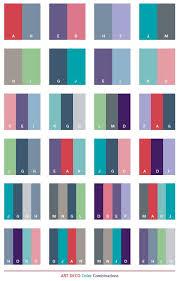 color schemes art deco color schemes color combinations color