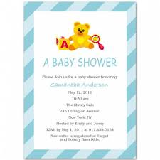 boy baby shower invitation bs025